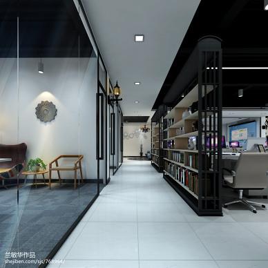 AIX英伦下午茶——办公室室内装饰设计_1461536