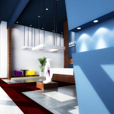 昱坤实业工业园办公空间室内装饰设计_1461778