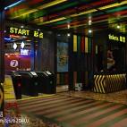 七號線自助火鍋金華店實景:時尚的隧道_1464485