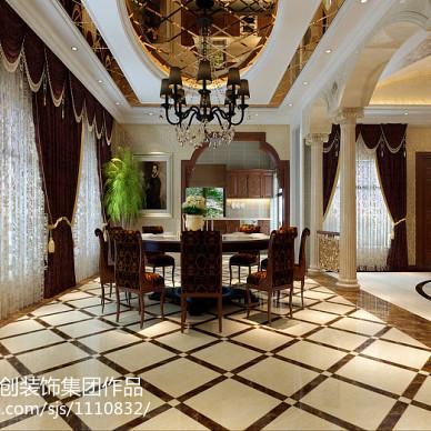 给你一个奢华、典雅、大气的简约欧式别墅。_1469215