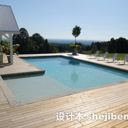 泳池砖设计效果图