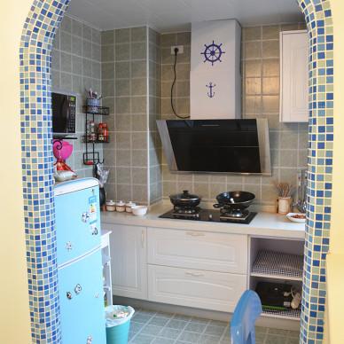地中海风格厨房卫生间地砖效果图