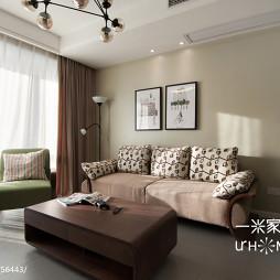 混搭三室两厅客厅窗帘装修效果图大全