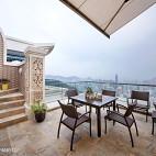 现代别墅豪宅阳台装修图