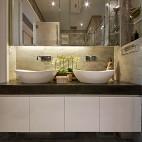 现代别墅豪宅卫生间装修效果图大全