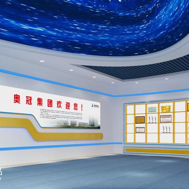 企业馆荣誉墙装修图片