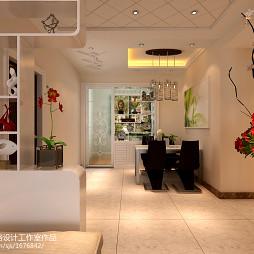 客厅和餐厅隔断设计效果图