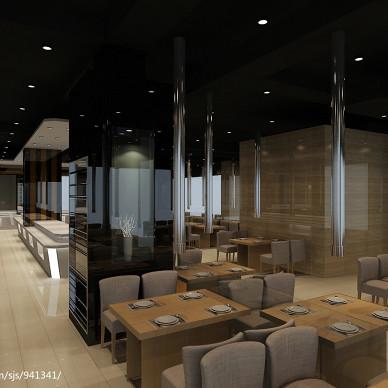 最新餐厅店面设计装修效果图
