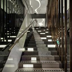 菲芘异次元酒吧楼梯装修