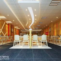 快餐店桌椅装修设计欣赏