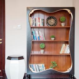 新中式混搭新古典书房装修