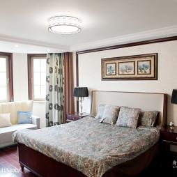 新中式混搭新古典卧室装修效果图欣赏