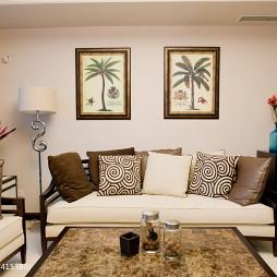 新中式混搭新古典客厅装修图片