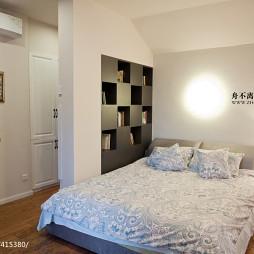 新中式混搭新古典卧室隔断装修效果图大全