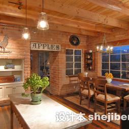 餐厅连厨房吊顶效果图