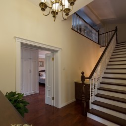 美式楼梯装修效果图大全