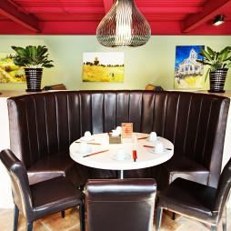 混搭风格中餐厅装修效果图