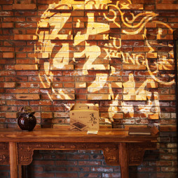 混搭风格中餐厅门头装修效果图