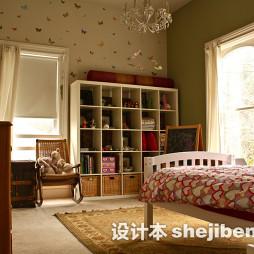儿童房间布置效果图图集