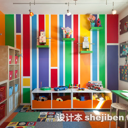 可爱儿童房间装修效果图图片