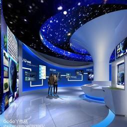 生态气象科技博物馆装修效果图