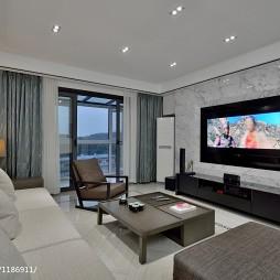 中式风格客厅电视背景墙设计