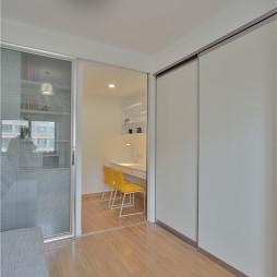 两室两厅现代简约卧室装修效果图