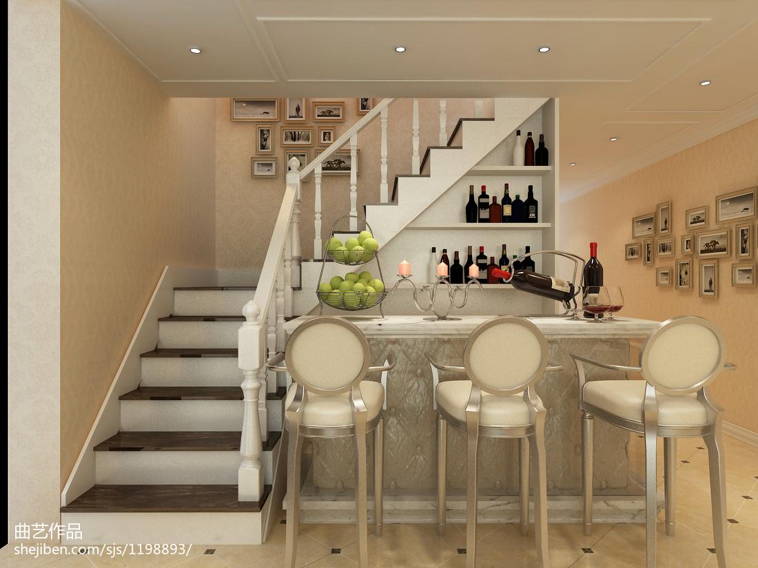 小户型卫生间_欧式小户型复式楼梯装修效果图 – 设计本装修效果图