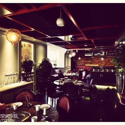 现代风格中餐厅装修效果图