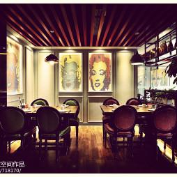 现代风格中餐厅装修图