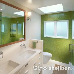 浴室台盆柜装修效果图片欣赏