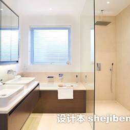 浴室台盆柜装修效果图库欣赏