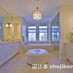 浴室台盆柜装修效果图大全欣赏