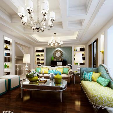 欧式风格2017年新款客厅灯具图片