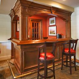 餐厅吧台家庭式家居装修设计