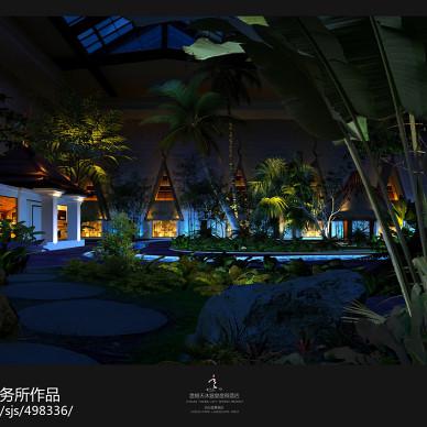 最新酒店景观设计效果图