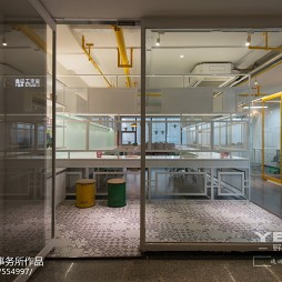 混搭风格工作室门厅设计