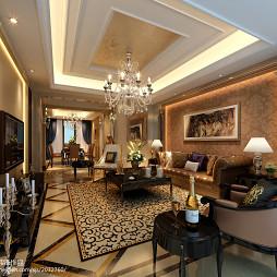 新古典欧式家装效果图图片