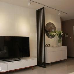 交换空间现代风格小户型客厅隔断装修效果图大全