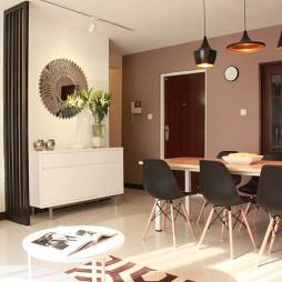 交换空间现代风格小户型餐厅吊顶装修效果图