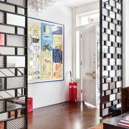 家居客厅隔断装修图片欣赏