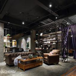 358平米摄影工作室现代工业风格装修