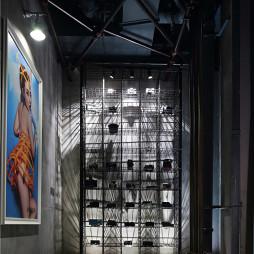358平米摄影工作室现代工业风格过道吊顶装修