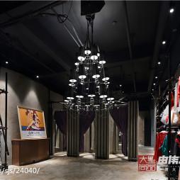 358平米摄影工作室更衣室现代工业风格装修