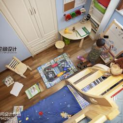 混搭风格二室儿童房装修图片
