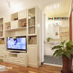 混搭风格二室卧室背景墙设计