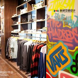 混搭风格专卖店货柜设计