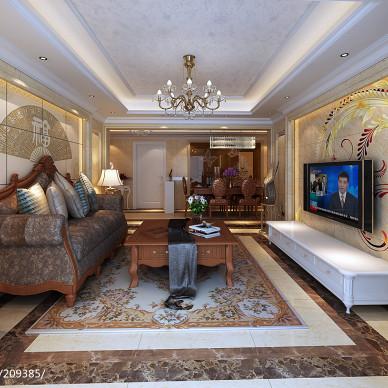 欧式客厅装修效果图图集大全