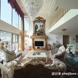 欧式复式别墅设计