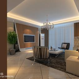 现代、时尚、个性三居室设计方案_1521952